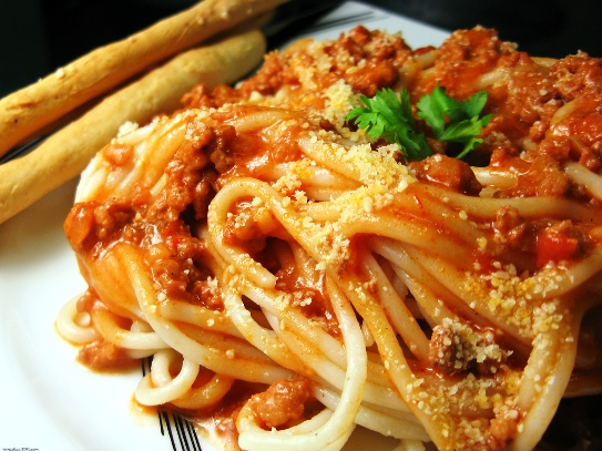 ... special – Spaghetti with ground beef and red sauce | Your Recipe 101