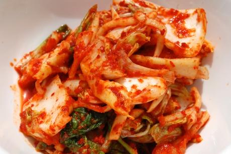 Korean dish, vegetable